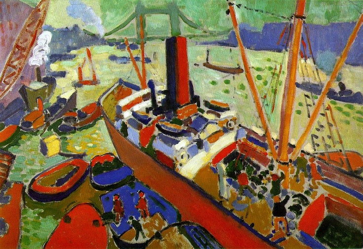 Andre Derain 'The Pool of London'